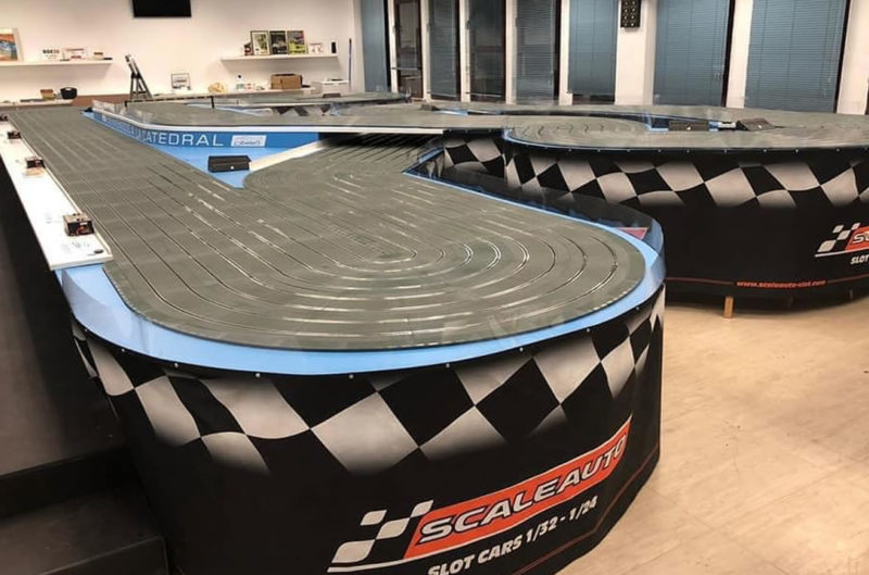 La cathédrale piste Scaleauto Pro Track Asociación Cibeles Slot
