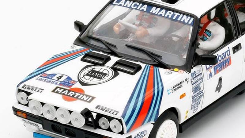 Lancia Delta HF Juha Kankkunen RAC Rallye 1987