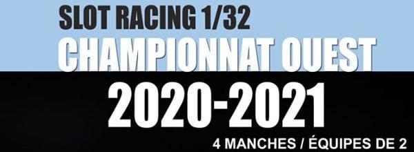 Le championnat Ouest 2020/2021 de slot racing est lancé