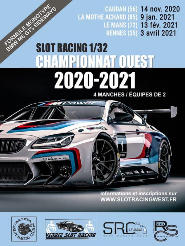 Le championnat Ouest 20202021 de slot racing est lancé