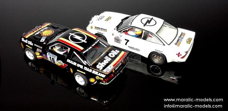 Maralic Models: Deux Opel Manta 400 Gr.B