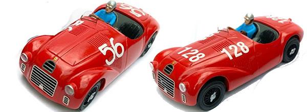 Modelant: La réplique de la Ferrari 125 S pour le slot racing