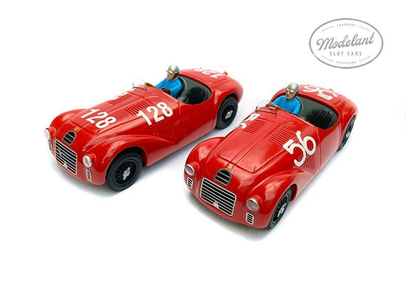 Modelant La réplique de la Ferrari 125S pour le slot racing