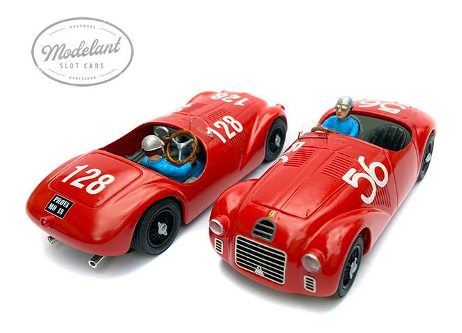 Modelant: La réplique de la Ferrari 12S pour le slot racing
