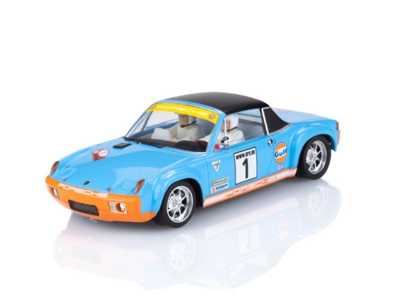 PORSCHE 914/6 GT Gulf 50e anniversaire 2 – version rallye 2 (52011)