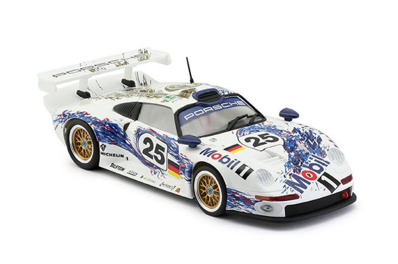 RS-0061- Porsche 911 GT1 # 25 Mobil-1 24H. LeMans 1996