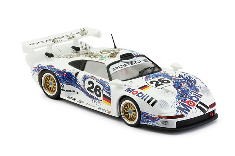 RS-0062- Porsche 911 GT1 # 26 Mobil-1 24H. LeMans 1996