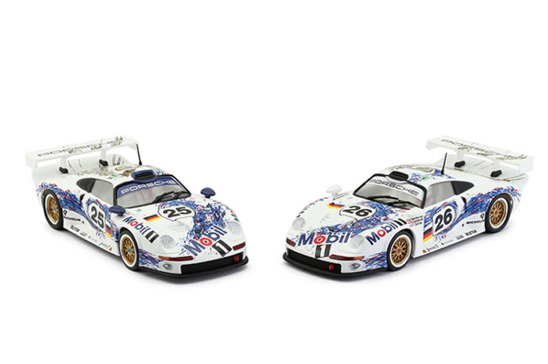 RS-0064- Porsche 911 GT1 Mobil-1 Twin Pack # 25 & # 26