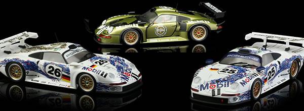 Revoslot: les photos des Porsche 911 GT1/96