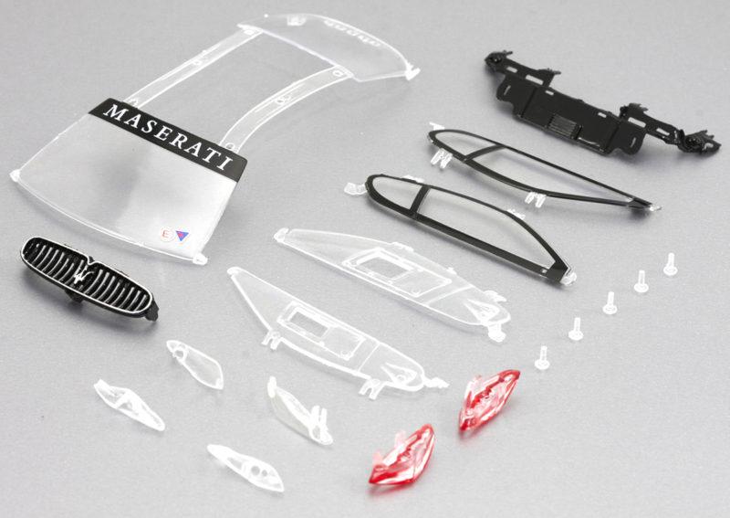 SI-CS43V kit pièces transparentes Maserati MC GT3