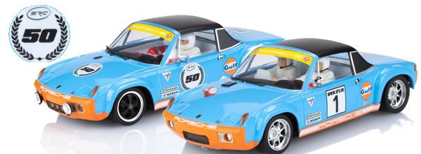 SRC: Deuxième édition des Porsche 914/6 – 50e anniversaire Gulf