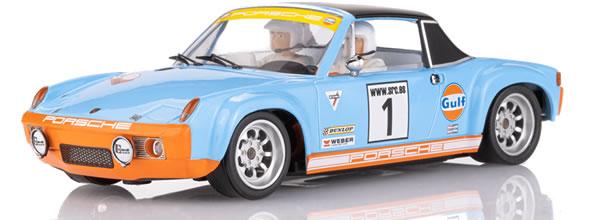 SRC La Porsche 914-6 Gulf 50e anniversaire version Rallye