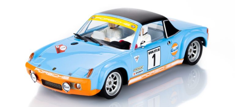 "SRC: La Porsche 914/6 GT ""GULF"" RALLYSLOT – 52009"