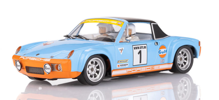 """SRC: La Porsche 914/6 Gulf """"50e anniversaire"""" version Rallye"""