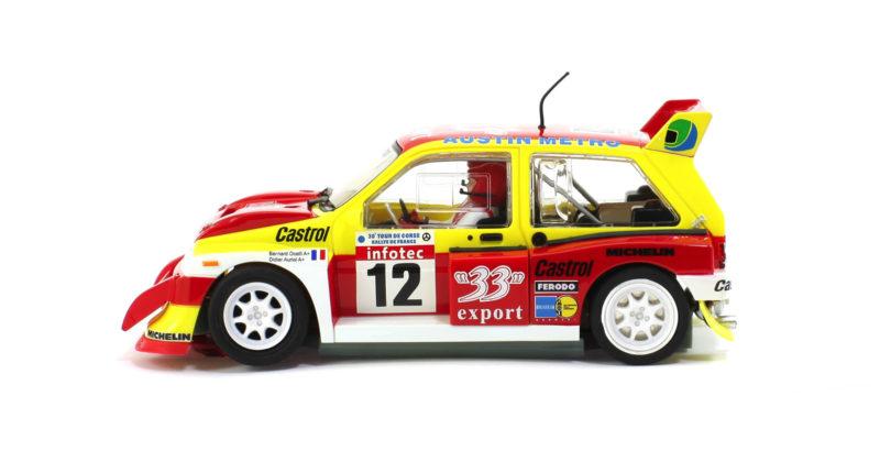 Scaleauto - MG Metro 6R4 R-Version AW 33 Export Tour de Corse 1986 - SC-6177R