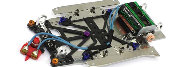 Scaleauto: Un chassis GT3 1/24 et des pièces pour slot cars 1/32