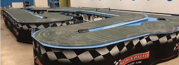 Scaleauto: les pistes SC Pro Track envahissent l'Espagne