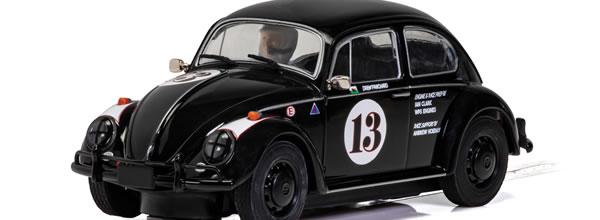 Scalextric Volkswagen Beetle Drew Pritchard Goodwood 2018 1:32 Slot Race Car C4147