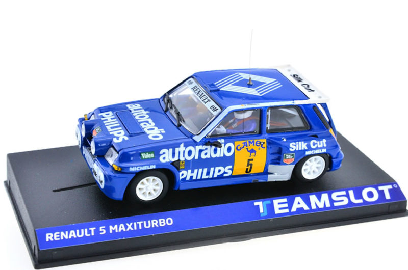 Team Slot la Renault 5 Maxi Turbo Philips Auto Radio 4x4 #5