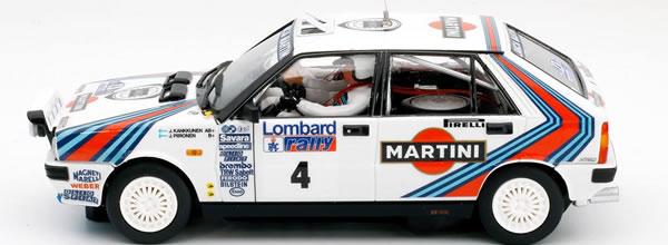 Team Slot: les photos de la Lancia Delta HF Juha Kankkunen RAC Rallye 1987