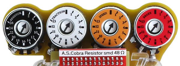 Upgrade 2020 de la poignée AS Cobra 6k pour le slot
