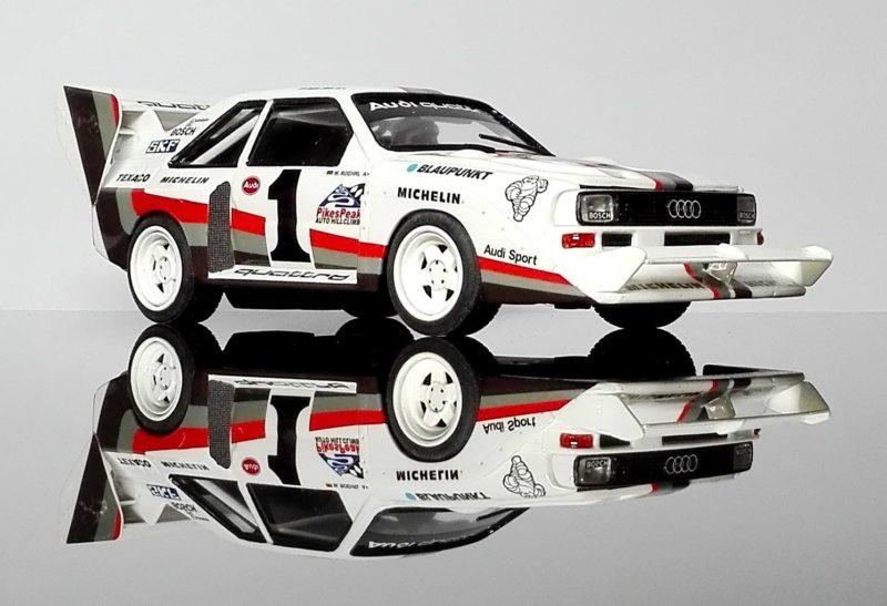 Maralic Models: l'Audi S1 E2 Pike Peak 1987