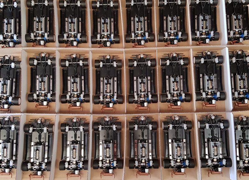 Montage des chassis Lancia Delta S4 SRC