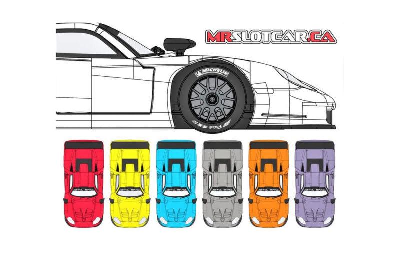 Mr Slotcar - les 6 Porsche 911 GT1 Evo Contenders
