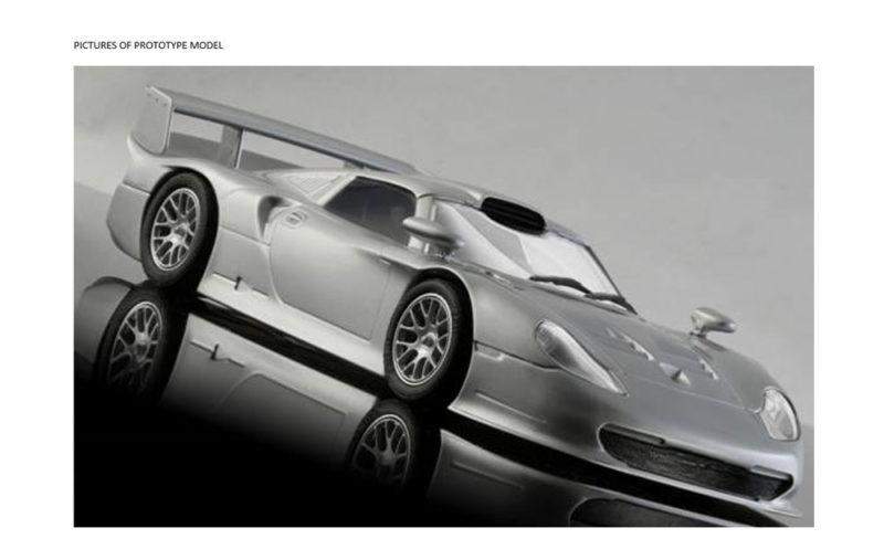 Mr Slotcar - prototype Porsche 911 GT1 Evo Contenders