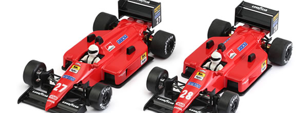 NSR Slot: les photos des F1 86/89 Red Italia