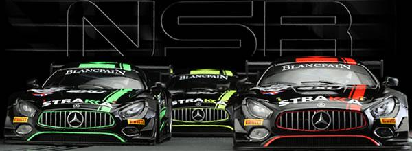 NSR: les Trois AMG GT3 STRAKKA pour le slot