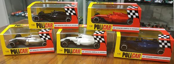 Policar: les premiers samples des F1 Generic Modern