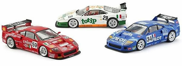 Revoslot: les photos des Ferrari F40 pour le slot