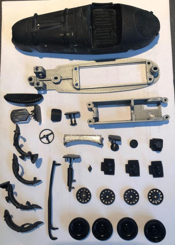 kit de la Frazer Nash High Speed - AstenBelts