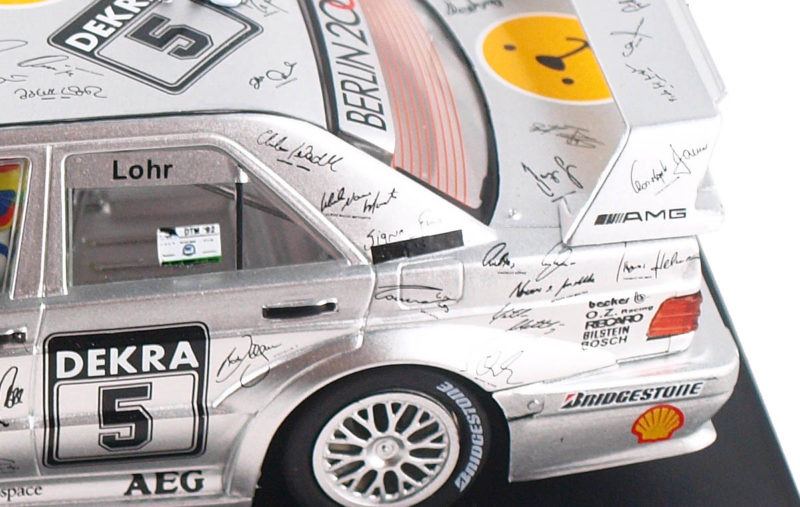 Slot.it la Mercedes 190E DTM Hockenheim 1992, Ellen Lohr - SICA44c