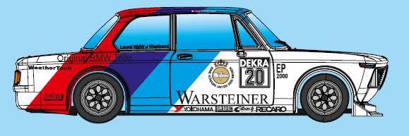 Calendrier Brm 2021 BRM: le projet BMW 2002 Ti 1/24 en bonne voie   slot cars passion