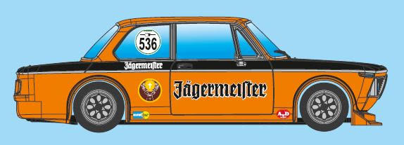 BRM - BMW 2002 Ti - #536 Jagermeifter