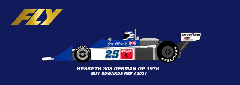 Fly Hesketh 308 GP allemand 1976 Guy Edwards