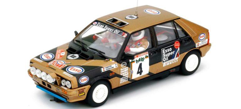 Team Slot: La Lancia Delta HF 4 WD Rallye San Remo 1987 #4