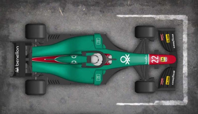 L'Alfa Romeo 184T - Thierry Boutsen-