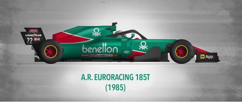 L'Alfa Romeo 184T - Thierry Boutsen