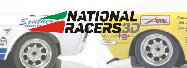 National Racers 3D: des Châssis 3DP pour les Mustang et Camaro Pioneer
