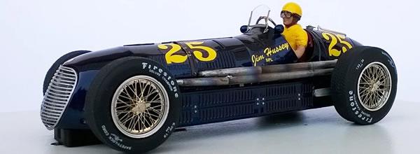 Ostorero Slot Models: La Maserati 8CTF - Indianapolis 500 - 1946
