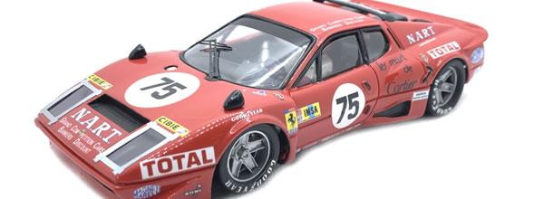 PRS Slot: La Ferrari 365 GT4 BB # 75 LM 1977 en édition limitée