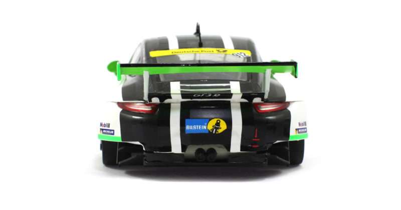 Scaleauto: les deux Porsche 911 GT3 RSR Team Manthey 24H. Nurburgring 2016