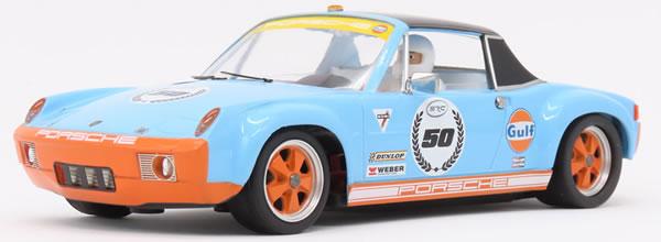 SRC: La dernière Porsche  914/6 Gulf Collection