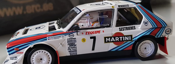 SRC: Un jeu concours et la date de sortie de la Lancia Delta S4