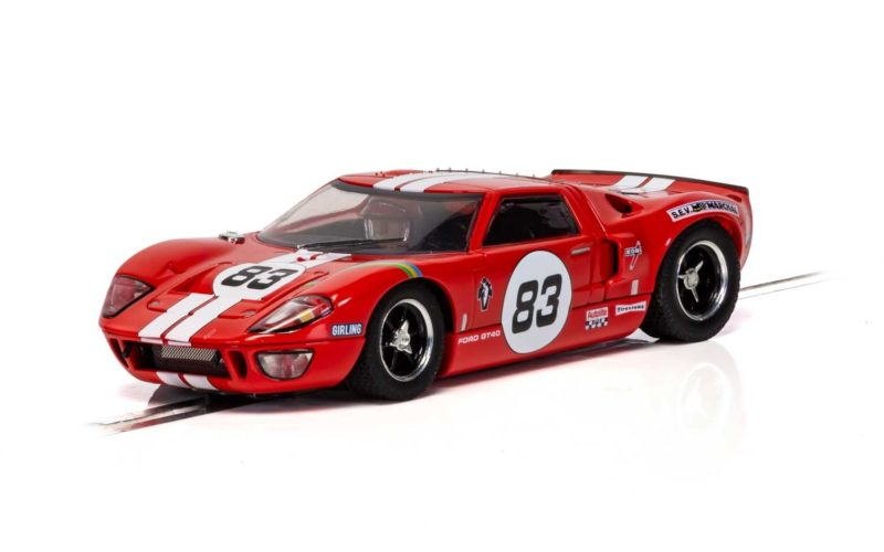 Scalextric C4152 Ford GT40 - Red No.83 Réf C4152