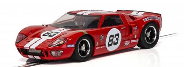 Scalextric: La dernière GT40 produite reproduite pour le slot