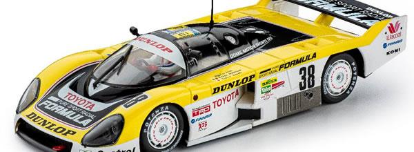 Slot.it: La Toyota 86C 24 Heures du Mans en 1986